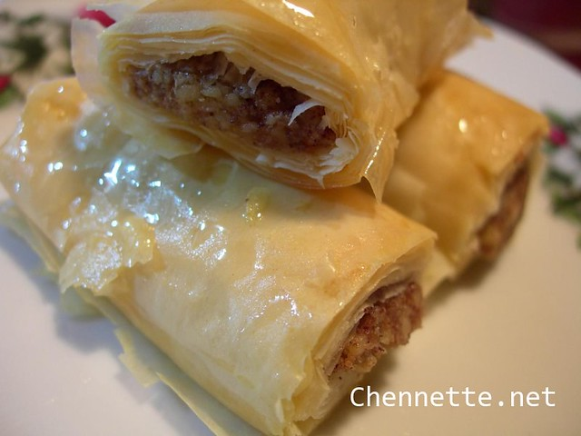 how to make baklava syrup