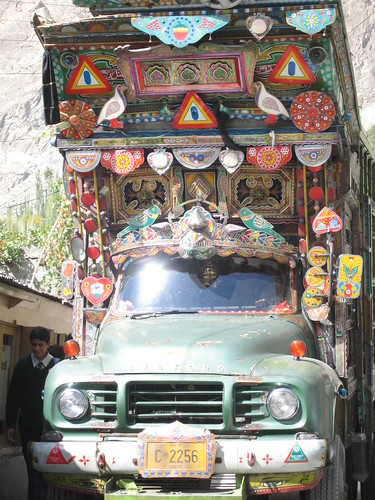 A tight squeeze in Karimabad