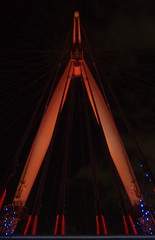London Eye spoke and supports