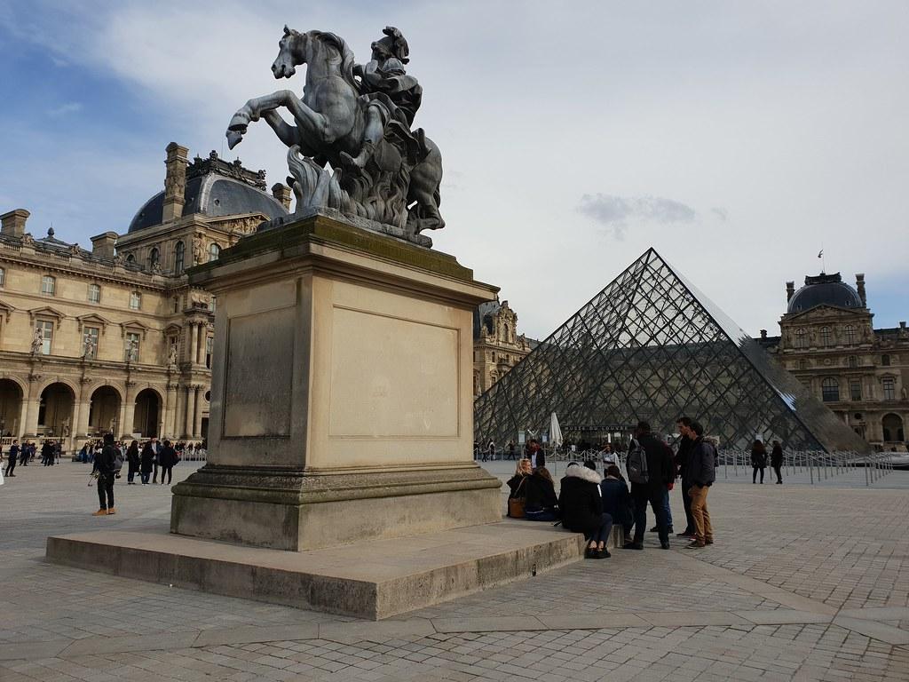 羅浮宮金字塔Pyramide du Louvre-2