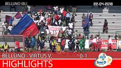 Belluno-Virtus V. del 22-04-18