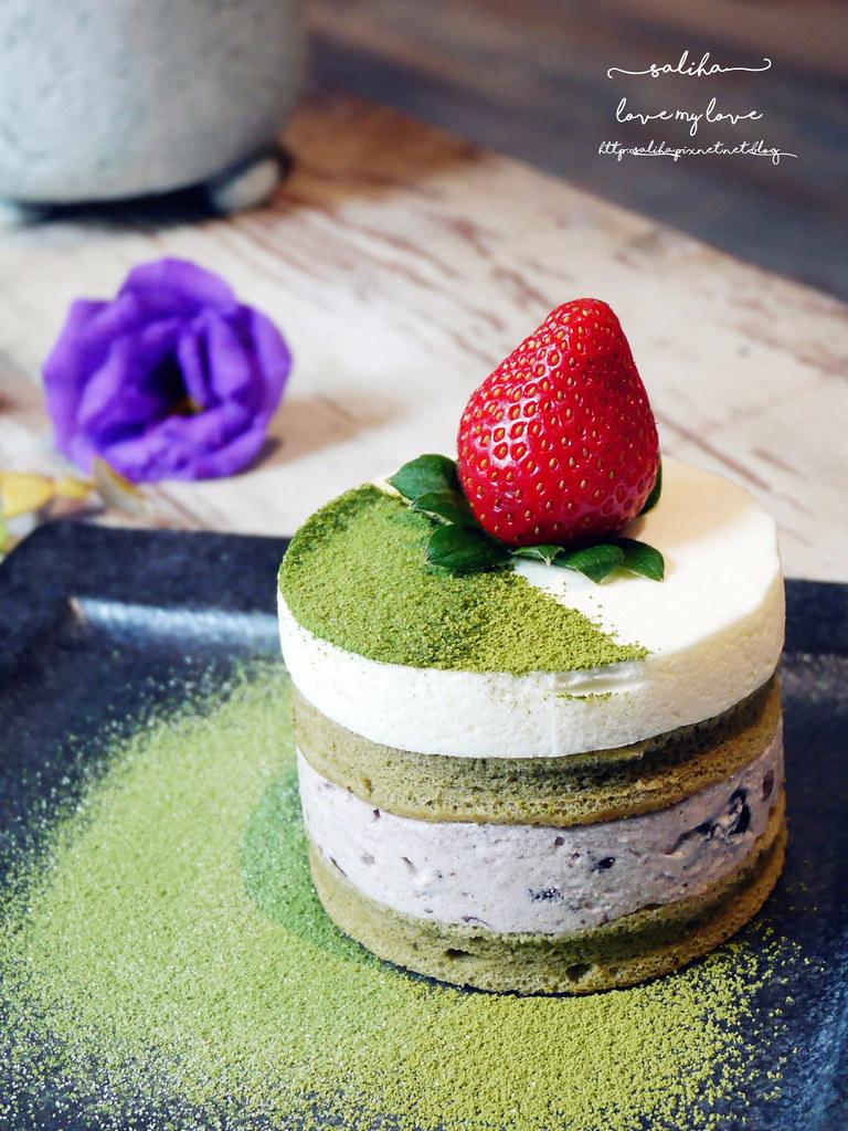台北中山區咖啡館推薦白舍夢幻抹茶甜點蛋糕