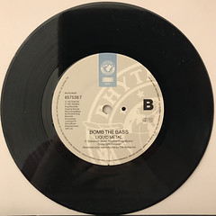 BOMB THE BASS:THE AIR YOU BREATHE(RECORD SIDE-B)