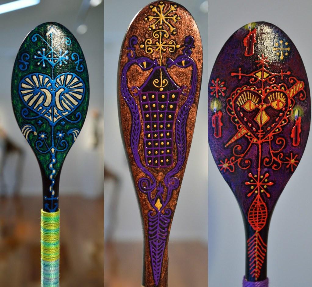 Vevé wooden spoons