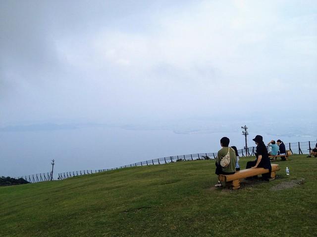 蓬莱山 びわ湖バレイからの眺望