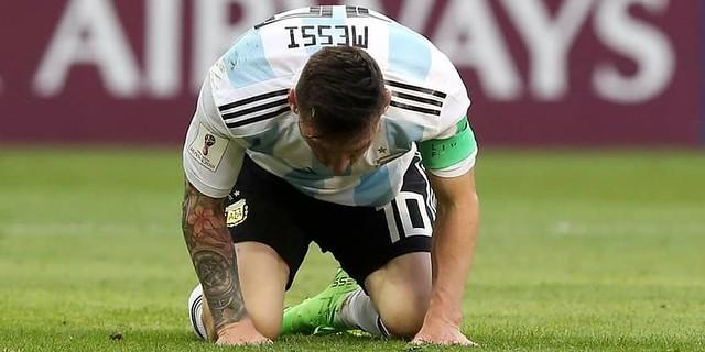 Argentina Tersingkir Sergio Agüero,Lionel Messi Yang Paling Terluka