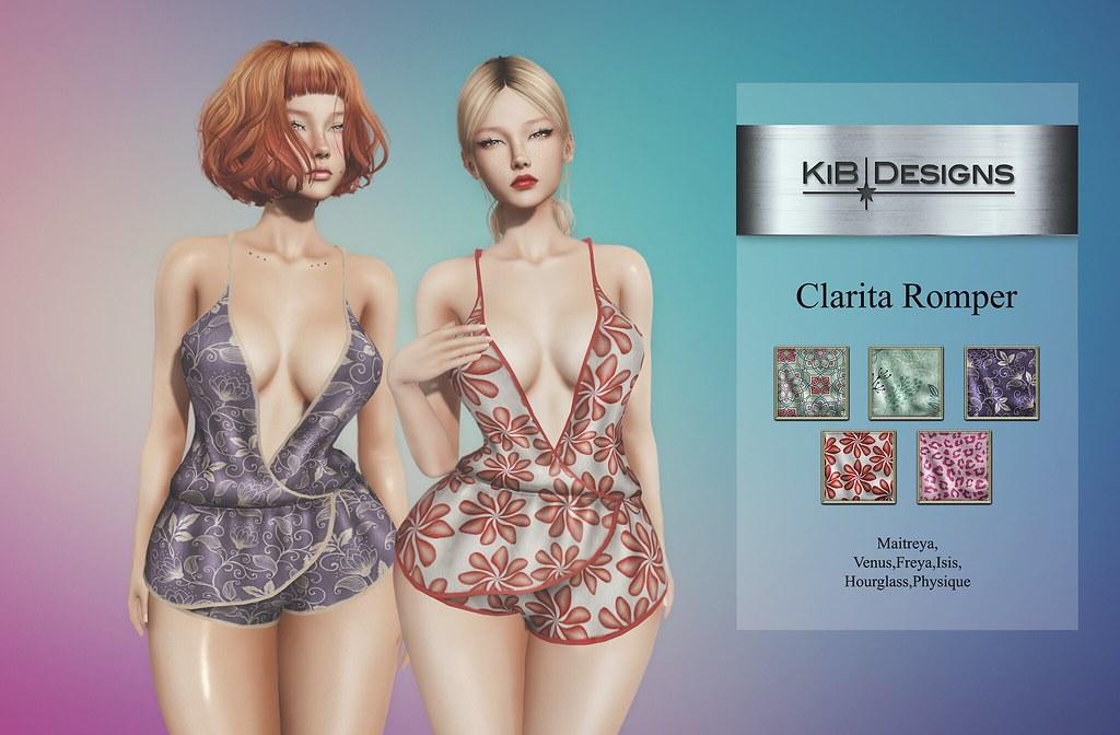 KiB Designs – Clarita Romper @Designer Showcase