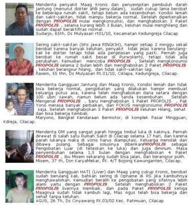 testimoni propolis brazil