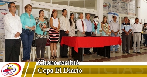 Chone recibió Copa El Diario