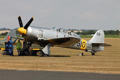 WG655 Hawker Sea Fury T Mk.20 Royal Navy