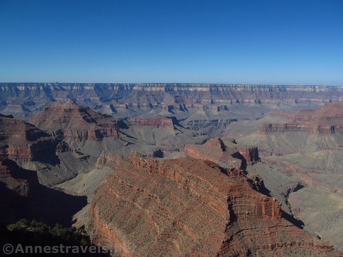 Views from Honan Point on the North Rim of the Grand Canyon, Arizona