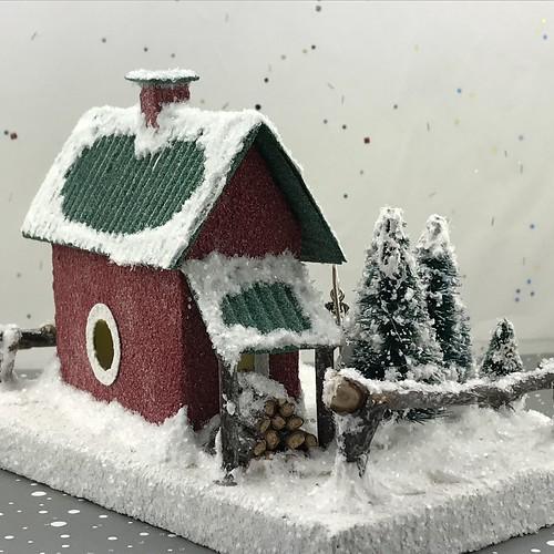 Merry's Christmas Tree Lot Putz