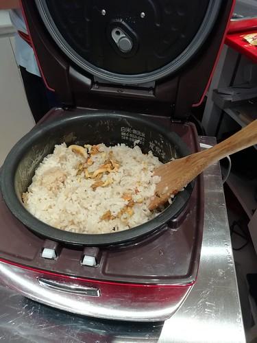 ホヤの炊き込みご飯