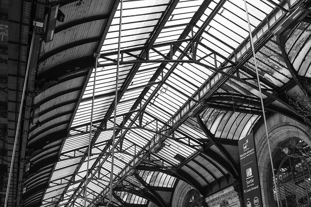 structure gare de Lyon