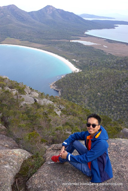 On Top of Mount Amos Freycinet National Park Tasmania