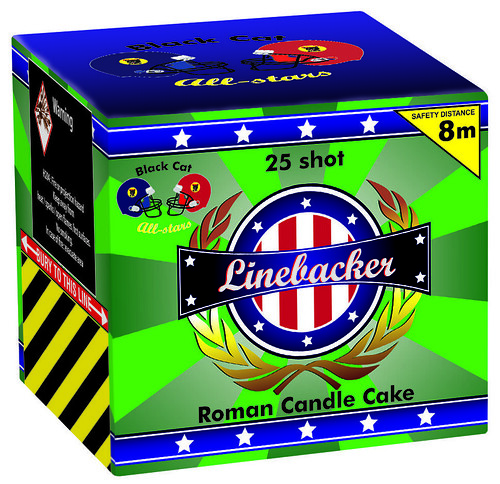 Linebacker by Black Cat Fireworks