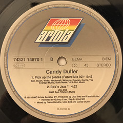 CANDY DULFER:PICK UP THE PIECES(LABEL SIDE-B)