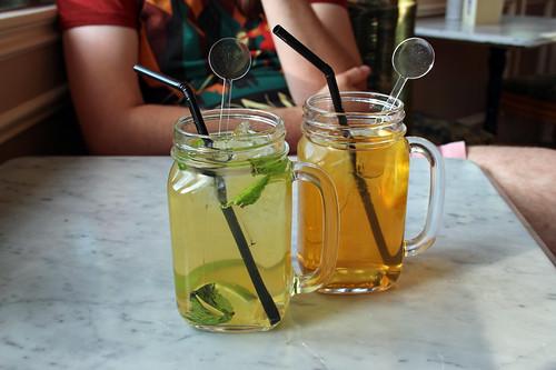 home-made ice tea