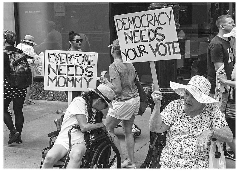 Everyone Needs Mommy  Democracy Needs Your Vote
