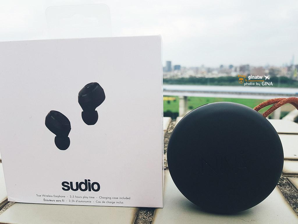 耳塞式無限藍牙耳機推薦》Sudio Niva 輕巧極簡風 運動旅遊好方便 @Gina Lin