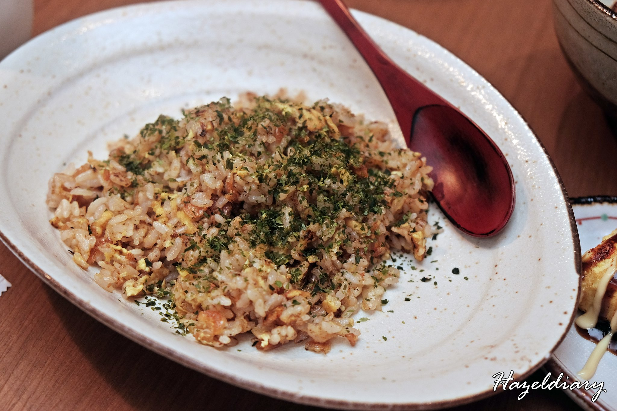 Plum & Toro-Ebi Fried Rice
