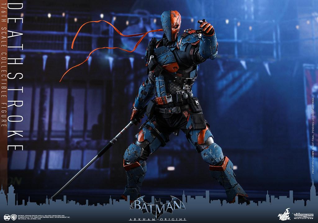 Hot Toys - VGM30 -《蝙蝠俠:阿卡漢起源》喪鐘 Deathstroke 1/6 比例人偶作品