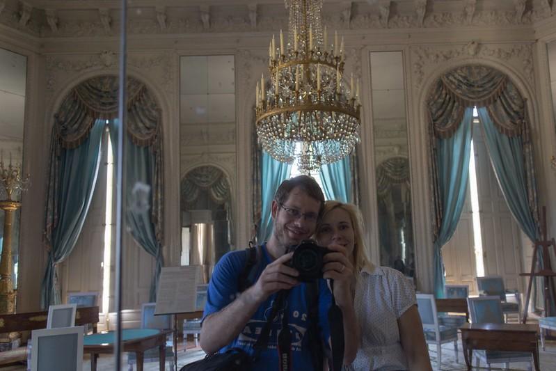 Der Spiegelsaal im Grand Trianon.