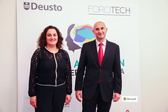 27/06/2018 - Microsoft se une a la Universidad de Deusto para dar visibilidad a mujeres tecnólogas y fomentar las vocaciones femeninas en el sector científico técnico