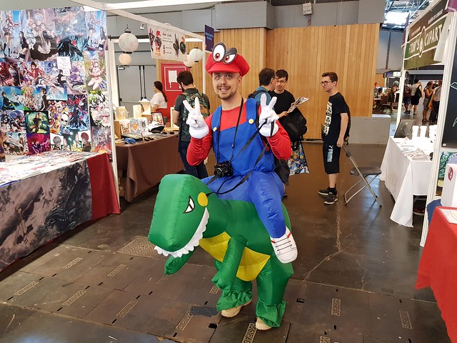 Japan Expo 2018 - Cosplayers