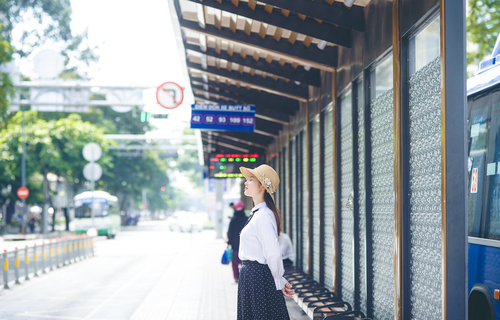 42406838444 d18907fe15 h - Trạm xe buýt quận 1, địa điểm check-in mới cho giới trẻ Sài Gòn