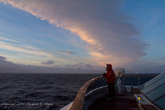 Lovely Clouds and Colors in Early Morning as We Approach Antarctic Sound