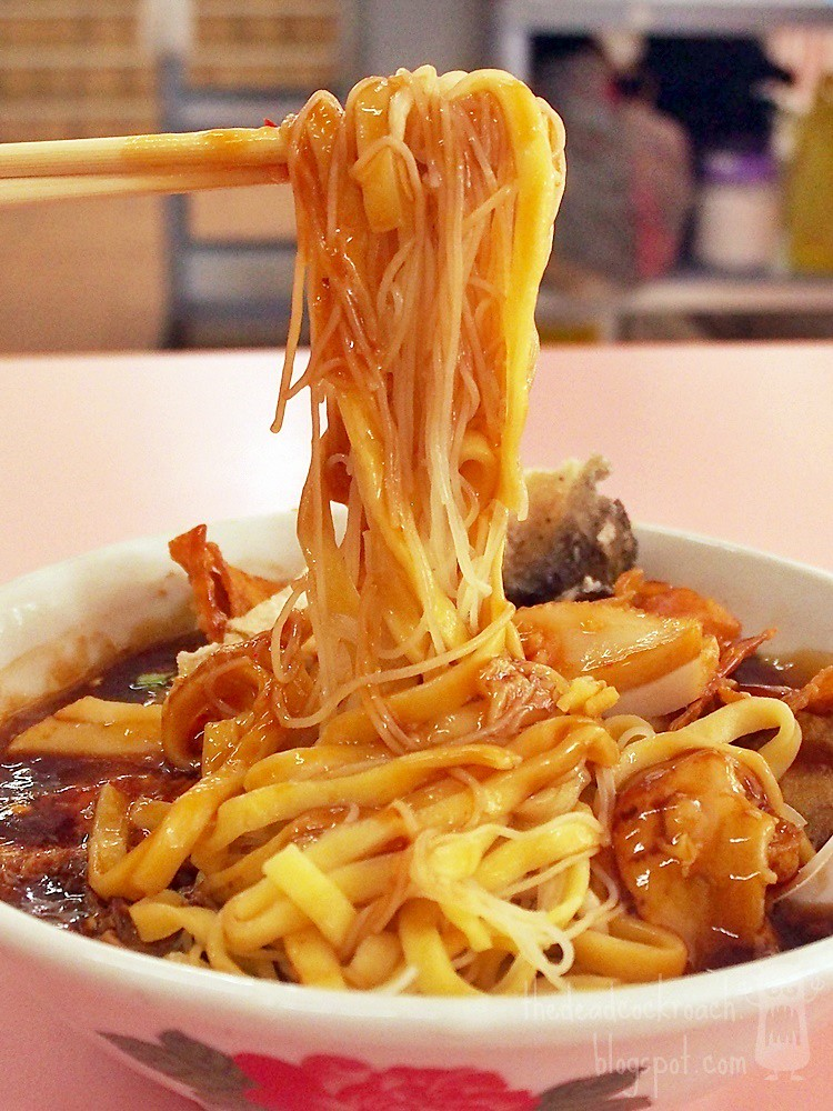 food, food review, golden mile, golden mile food centre, keng heng whampoa teochew lor mee, lor mee, review, singapore, 慶興黃埔潮州鹵麵, 潮州, 潮州鹵麵, 鹵麵, beach road, army market,