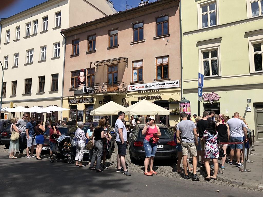 Kazimierz, Krakovan juutalaiskorttelit