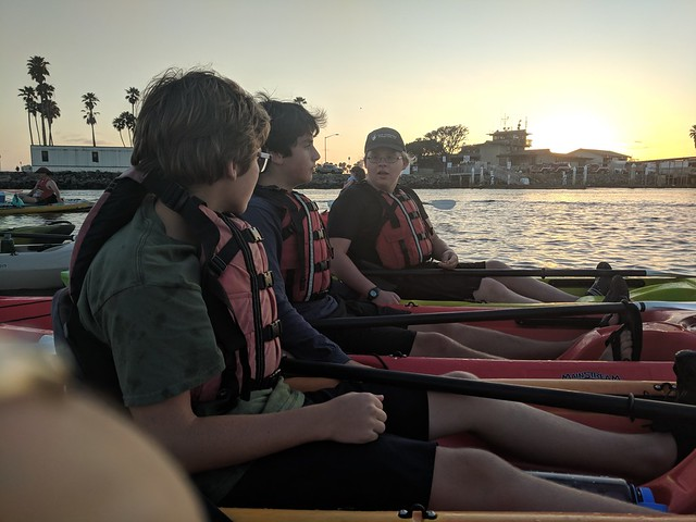 2018-07-04 Kayaking for Fourth of July Fireworks