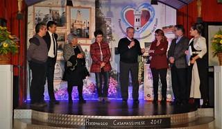 Vito De Tommaso, con la commissione, al Personaggio casamassimese dell'anno