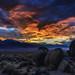 Eastern Sierra Sunset by halladaybill