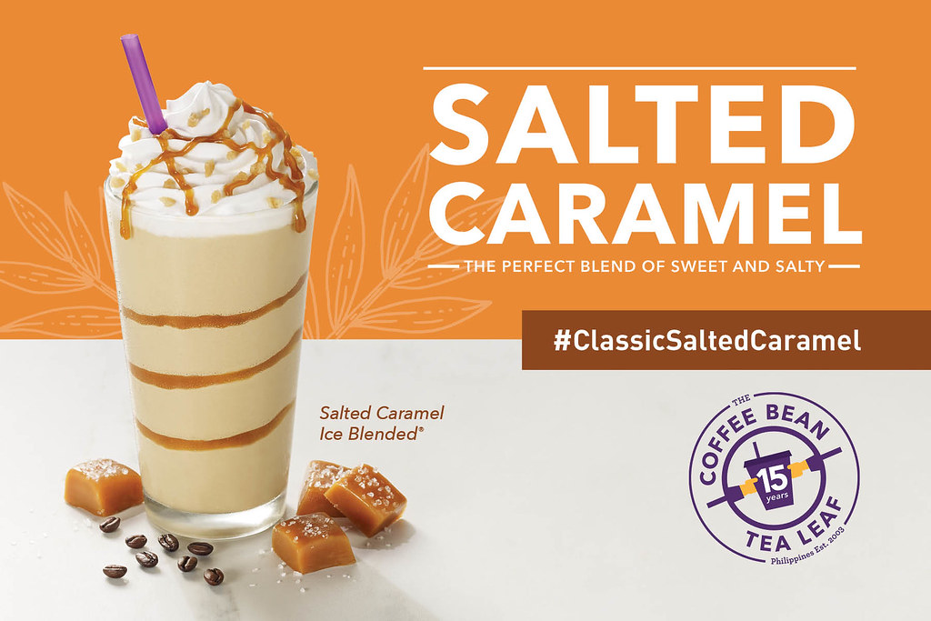 The Hungry Kat Classic Salted Caramel Ice Blended From The Coffee