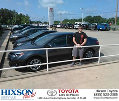 #HappyBirthday to Michael from Jason Olfers at Hixson Toyota of Leesville!