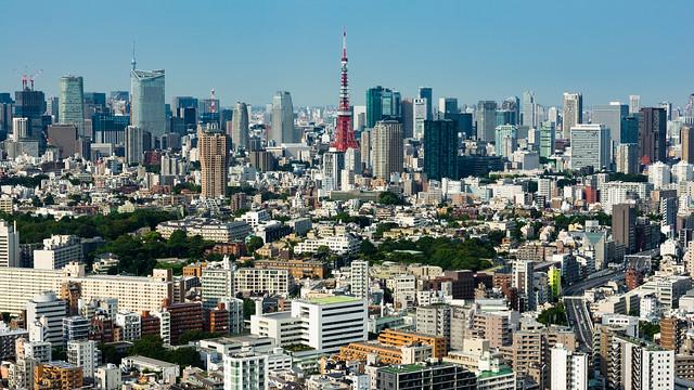 Tokyo Tower from Ebisu Garden Tower