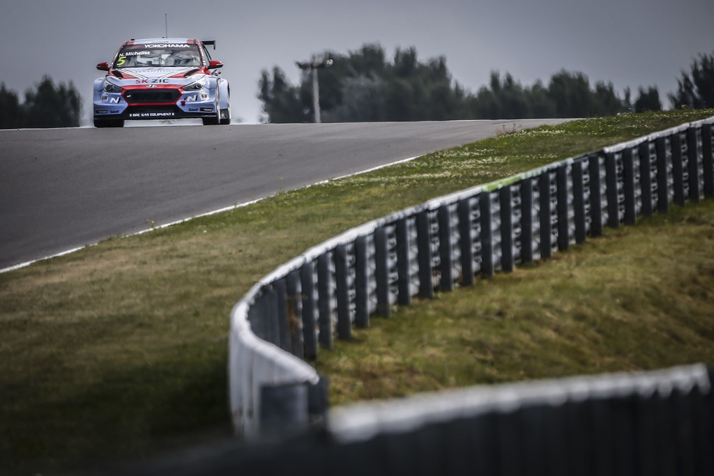 05 MICHELISZ Norbert, (hun), Hyundai i30 N TCR team BRC Racing, action during the 2018 FIA WTCR World Touring Car cup race of Slovakia at Slovakia Ring, from july 13 to 15 - Photo François Flamand / DPPI.
