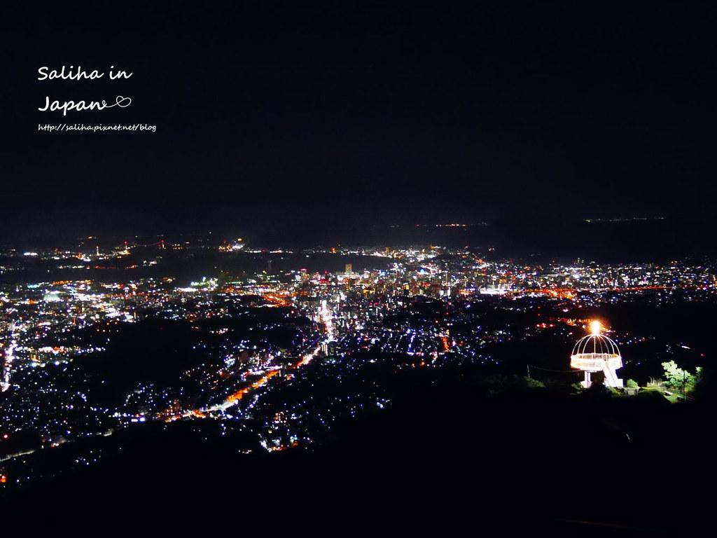 日本九州福岡皿倉山夜景纜車 (2)