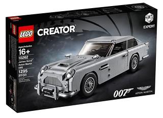 實現你的特務美夢!! LEGO 10262 創意系列【詹姆士·龐德 奧斯頓馬丁DB5】Creator Expert James Bond Aston Martin DB5