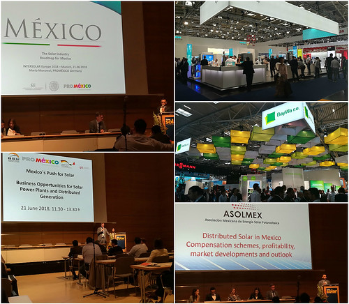 Presencia de México en la feria Intersolar en Munich - The Smarter E Europe