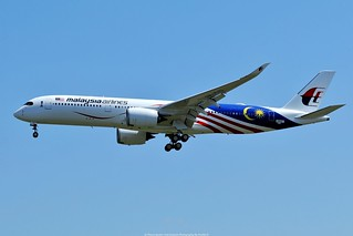 Malaysia Airlines Airbus A350-900 9M-MAG