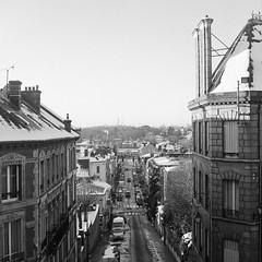 Rue Thiers, Pontoise, France