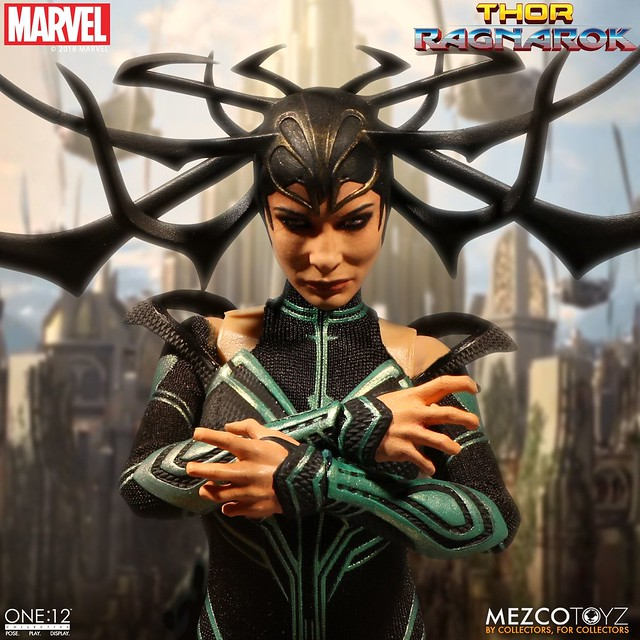 Tremble Before Ragnarok Hela One: 12 Collective  from Mezco Toyz!