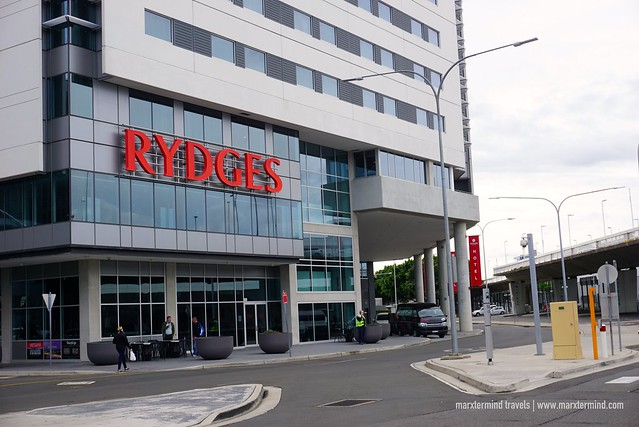 Checking in at Rydges Sydney Airport Hotel