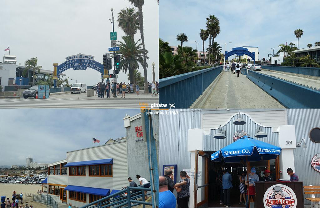 LA洛杉磯自由行景點》聖塔莫尼卡碼頭 / 加州陽光沙灘 / 太平洋公園 ( Santa Monica Pier / Pacific Park) @Gina環球旅行生活