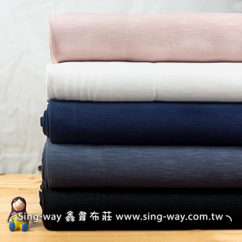 莫代爾 素面 簡約無印 輕便舒適 短袖 長裙 彈性針織布料 LA1290015