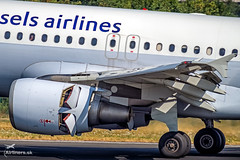 OO-SSV Brussels Airlines Airbus A319-111